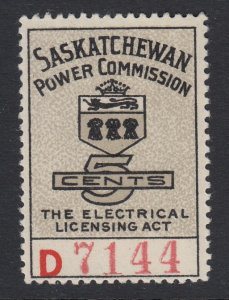 Canada, Saskatchewan (Revenue), van Dam SE14, MHR