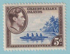 GILBERT & ELLICE ISLANDS 46  MINT HINGED OG * NO FAULTS VERY FINE!