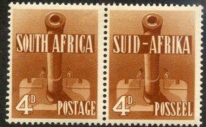 South Africa, Scott #86, Unused, Hinged pair