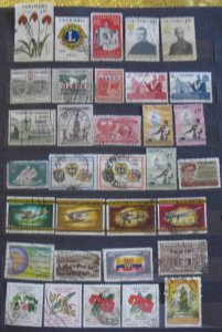 Colombia 33 Different Air Mail