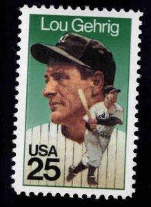 USA Scott 2417 Lou Gehrig Baseball Great stamp