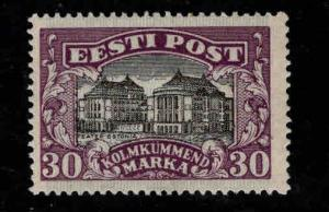 Estonia Scott 81 MH* from 1924