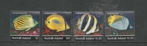 Norfolk Island Scott catalogue # 577-580 Unused HR See Desc