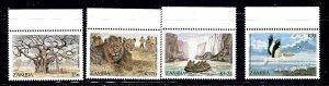 Zambia 393-96 MNH 1987 set    (ap1078)