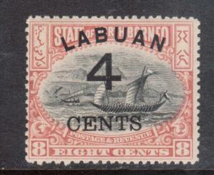 Labuan #89 Mint