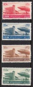 LEBANON - LIBAN MNH SC# C193-C196  BEIRUT INTERNATIONAL AIRPORT