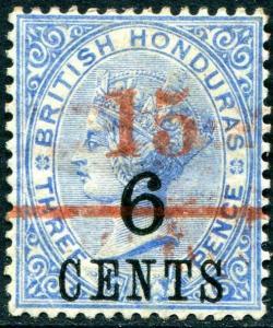 HERRICKSTAMP BRITISH HONDURAS Sc.# 37 Mint Hinged Scott Retail $16.00