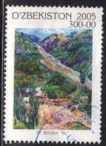 UZBEKISTAN  SC# 428  USED  2006   SEE SCAN