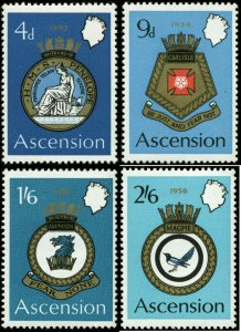 Ascension Scott #134 - #137 Complete Set of 4 Mint Never Hinged