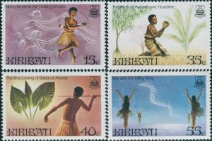 Kiribati 1985 SG245-248 Legends set MNH