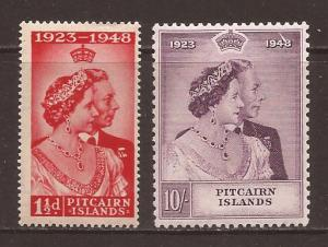 Pitcairn Islands scott #11-12 m/lh stock #14239