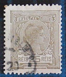 Brazil, 1918 -1919, Libertas - Inscription BRAZIL CORREIO, (2424-T)