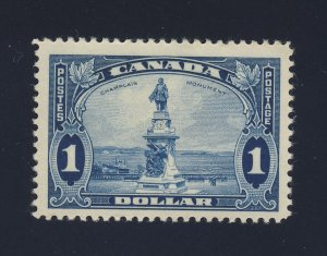 Canada $1.00 stamp #227-$1.00 Champlain MNG F/VF Guide Value = $62.50
