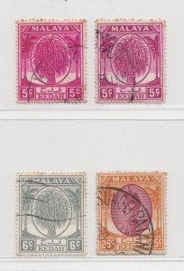 Malaya Kedah - 1950 - Used