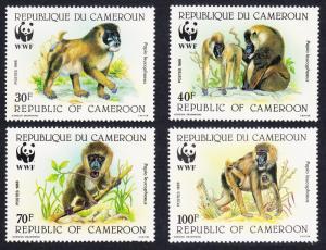 Cameroun WWF Drill 4v SG#1115-1118 MI#1155-1158 SC#843-846