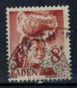 Germany - French Occupation - Baden - Scott 5N32