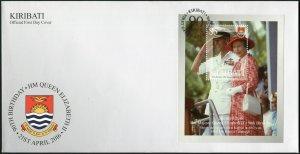 Kiribati. 2016. 90th Birthday of Queen Elizabeth II - 2 (Mint) First Day Cover