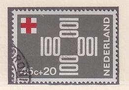 Netherlands   #B428  cancelled 1967   red cross  45c