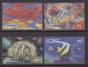 Dominica 2268-2271 Marine Life MNH VF