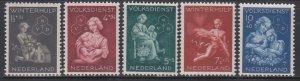 Netherlands,  National Social Service  (SC# B149-B153) MNH SET