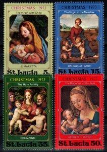 St Lucia #345-8 MNH