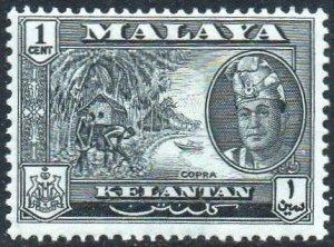 Kelantan 1962 1c Copra MH