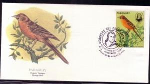 Paraguay FDC SC# 2141a Hepatic Tanger L259