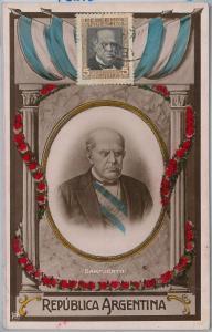 57300  -  ARGENTINA - POSTAL HISTORY: MAXIMUM CARD  - POLITICS