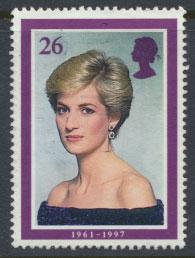 Great Britain SG 2025 Used    - Diana Princess of Wales