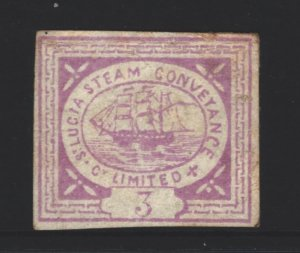 St Lucia Steam Conveyance MNG