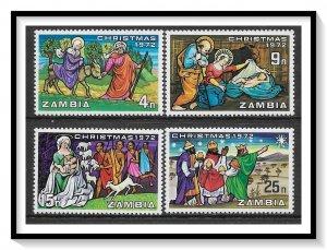 Zambia #90-93 Christmas Set MNH