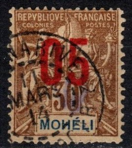 Moheli #19 F-VF Used CV $3.50 (X5375)