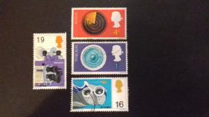 Great Britain 1967 British Discoveries MLH