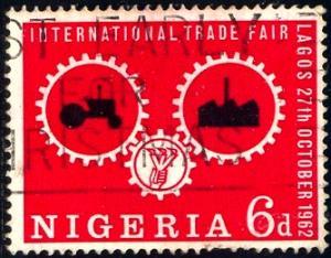 Wheels of Industry, Lagos Intl. Trade Fair, Nigeria SC#135