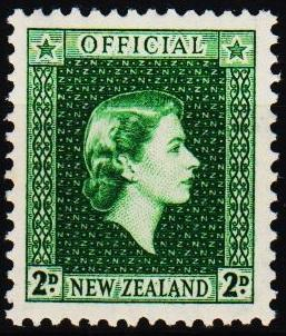 New Zealand. 1954 2d S.G.0161 Mounted Mint