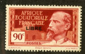 FRENCH EQUATORIAL AFRICA 106 MNG SCV $4.00 BIN $1.25 PERSON
