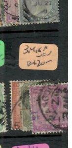 BURMA (P0707B) QV INDIA USED IN FORERUNNERS 3A,4A,8A   RANGOON CDS VFU