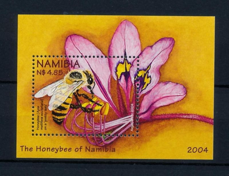 [40321] Namibia 2004 Insects Insekten Insectes Bee MNH Sheet