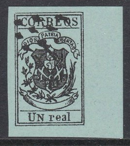 DOMINICAN REPUBLIC  An old forgery of a classic stamp.......................C917