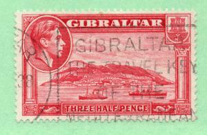 Gibraltar - SG# 123a Used  /  Lot 1118289