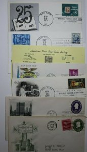 ASDA First Day Covers NYC Philatelic Expo Cachet Covers Lot 6