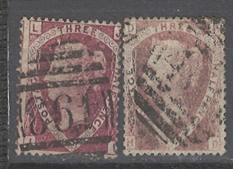 COLLECTION LOT # 2436 GREAT BRITAIN #32*2 1870 CV=$130