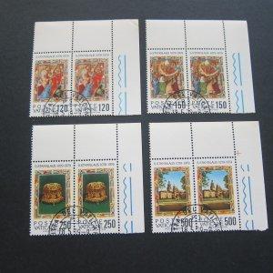 Vatican 1999 Sc 648-51 set CTO MNH