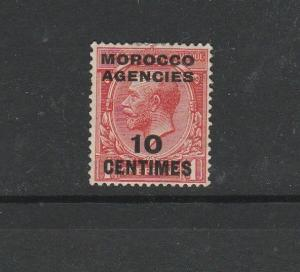 Morocco Agencies French 1917/24 Simple Cypher 10c on 1d SG 193