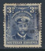 Southern  Rhodesia  SG 5  SC# 5 Used see scan and detail