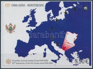 Montenegro stamp Europa CEPT block 2006 MNH Mi 2 A WS211995