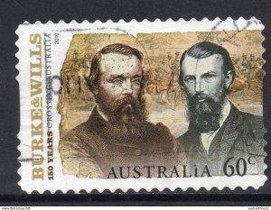 BURKE & WILLS image postally used 60c BOOKLET SELF-ADHESIVE stamp