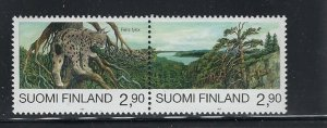 Finland 960a-b MNH 1995 pair from a block of 4