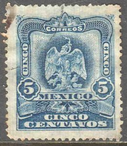 MEXICO 297, 5¢ EAGLE COAT OF ARMS. USED. VF. (189)