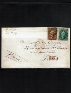 Scott #68 & 75 F/VF used on cover.